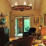 3BR cabin's living room