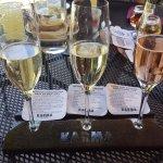 Sparkling wine sampler
