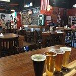 restaurant and beer flight