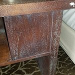 worn out, outdated furniture