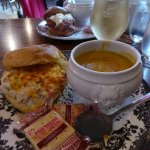 Heavenly lunch. Yum!