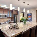 Kitchen (1, 2, & 3 bedroom suites)