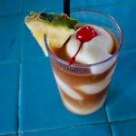 Pina Colada with Dark Rum