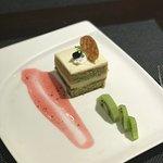 Ayami green tea dessert