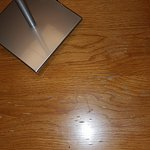 Laminate lifting on the bedroom furniture