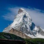 On mountain view of Matterhorn