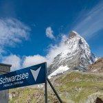 Scharzsee Matterhorn view