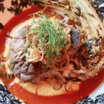 Osso Bucco and grilled fennel
