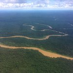 Approach to Mulu National Park