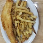 Another great feed of fish and chips! This is the best place west of newfoundland! Good job once