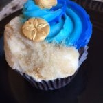 The beach on a cupcake! <3