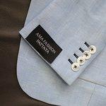 Japanese linen blazer for summer.