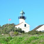 Lighthouse at Cabrillo National Monument in San Diego, CA. (©Alex Lee)