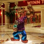 Popeye by Jeff Koons, installed in the Esplanade between the Wynn & Encore
