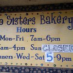 New operating hours