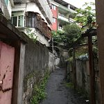 the alley street leading up to Solo Singer Cafe & Hotel