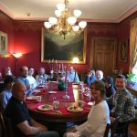 Our guests eating breakfast together at The Gables