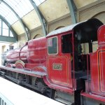 Ready to board the Hogwarts Express