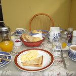 Breakfast is the best and Mary's scones are award winning!