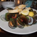 Local green-lipped mussels
