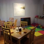 Crepe-ology A/C family dining with kids play area
