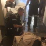 Ambulance takes her away
