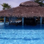 Swim up bar at Bavaro Pool