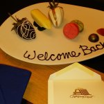 "Our 5th stay and we received ""Welcome Back"" gift!"
