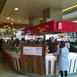 The Pho counter in the food hall