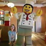Breakfast buffet at Legoland