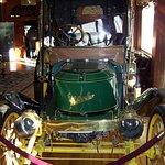 Stanley Steamer auto in lobby