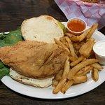 """""""Fat Chick"""" Chicken Sandwich"""
