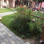 Untervegs bietet auch einen gemütlichen Garten und eine nicht zu überbietende Gastfreundschaft