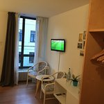 Small table, TV