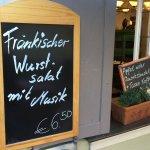 Specials: Meat salad, strudel - very reasonable