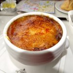 Onion soup .. for God sake dont call it French Onion