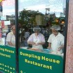 Fabrication des dumplings
