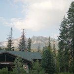 The Main Lodge where check in and Peaks dining room are located.