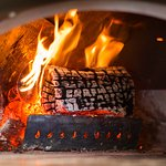our wood fire oven