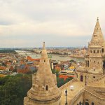 View from Buda across Danube to Pest