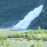 the loud gorgous waterfall you can walk to