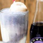 Purple Cow Ice Cream Float