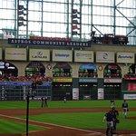 Beautiful modern ballpark