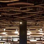 Wine barrel ceiling