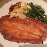 Parmesan-Crusted Sole with Potatoes & Vegetables