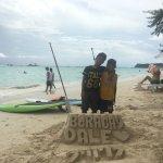 Boracay - White Beach in front of Mandarin Island Hotel