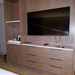 TV and drawers