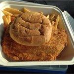 GIANT Haddock Sandwich