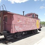 Caboose outside