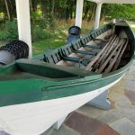 Whaling boat.